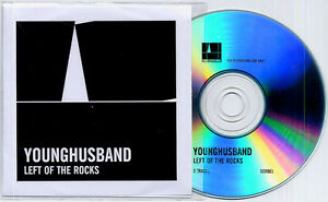 YOUNGHUSBAND Left Of The Rocks UK 3-trk promo CD + press release Sonic Cathedral