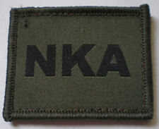 NEW OFFICIAL Ubacs NKA patch, olive.