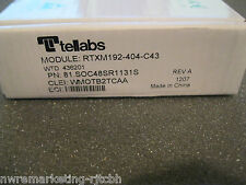 NOB Tellabs 81.SOC48SR1131S OC-48 2.5G MULTI-RATE SR 1310NM SM SFP