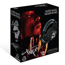 RBH-5253 Tupac Shakur Section8 Super Bass DJ Headphones