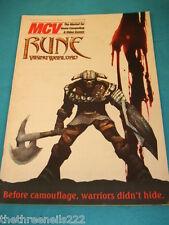 MCV MAGAZINE - RUNE VIKING WARLORD - JULY 6 2001