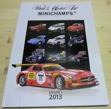 Katalog Minichamps 2013 Edition 1 - Neu