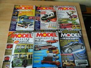 6x Model Collector Magazine issues July-Dec 2002 Stobart Bond British Toys