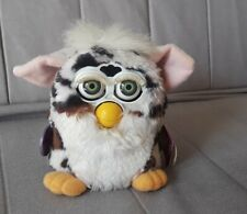 """1999 Furby , white w/black and brown with gray eyes. Name """"Joke please"""""""