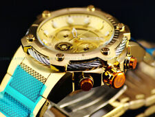 New Invicta 52mm Star Wars Gold Ion Bolt Chrono Limited Ed. Mens 1977 Watch NEW