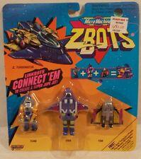 Z-Bots Micro Machines Linkbots - Turbonator Turb, Ona, & Tor Robots Galoob (MOC)