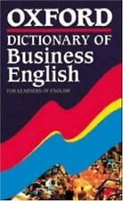 Oxford Dictionary of Business English for Learners of English-ExLibrary