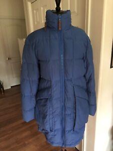 SEE by Chloe Blue Puffer down coat/jacket