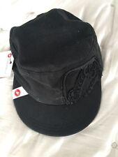 New Castelli Bicycling Headwear Soft Cotton Cycling Cap/Hat BLACK Adjustable