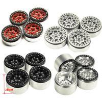 1/4PCS 2.2'' Metal Beadlock Wheel Rims for 1/10 RC AXIAL Wraith SCX10 TRX-4 D90