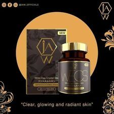 jaw White egg crystal skin 💯 glutathione blanchissant