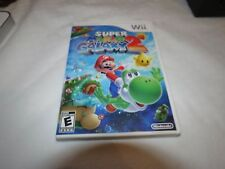 Super Mario Galaxy 2 (Nintendo Wii, 2010) adult owned video game everyone