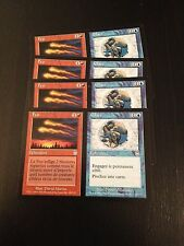 MTG MAGIC APOCALYPSE FIRE / ICE (FRENCH FEU / GLACE) NM X4