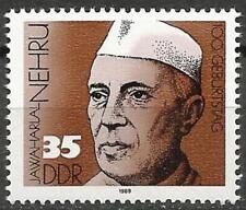 Germany (East) DDR 1989 MNH - Birth Centenary Indian Statesman Jawaharlal Nehru