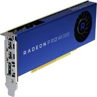 AMD Radeon Pro WX 3100 Graphic Card - 1.22 GHz Core - 4 GB GDDR5 - Half-length -