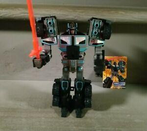 Transformers Car Robots D-012 Destronger Black Convoy (RID Scourge)
