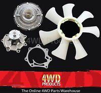 Fan Clutch/ Water Pump/ Fan Blade - for Nissan Patrol GU Y61 4.2TD TD42T (99-06)