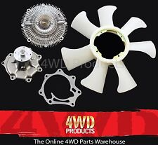 Fan Clutch/ Water Pump/ Fan Blade - for Nissan Patrol GU Y61 4.2TD TD42T (99-06)
