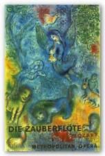 The Magic Flute Die Zauberflote Marc Chagall Museum Art Print 38x25