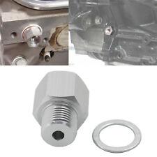 Swap M16 1.5 Adapter to 1/8 NPT Oil Pressure Sensor For LS Engine LS1 LSX LS3