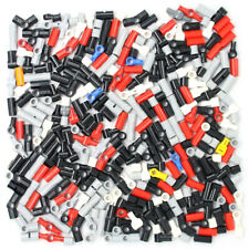 Lego 330x Genuine Technic Connectors Joints Couplers Black Red Grey Yellow - NEW