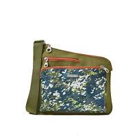 baggallini Women's Multicolored Asymmetric Crossbody Handbag, Multiple Colors