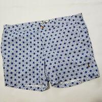Retromarine Mens Size 40 Blue Swim Trunks