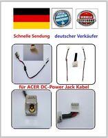 DC Power Jack Kabel Acer Aspire Strom Lade Buchse 4630 4730 4930 DC301008N00