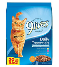 9Lives Dry Cat Food Daily Essentials 20 Pound Bag
