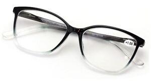 Women Fashion Reading Glasses - Stylish 2 Tone Reader