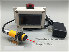 Photoelectric speed sensor Digital display speed measuring motor overspeed alarm