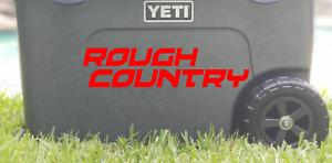 "8"" Rough Country Die-Cut Vinyl Decal Sticker    Choose Color"
