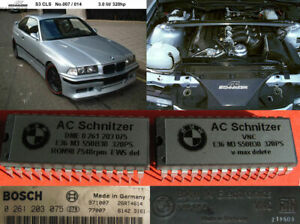 AC Schnitzer +34Hp BMW E36 M3 S50B30 3.0 320Hp chips like CLS S3 - VERY RARE!