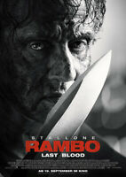RAMBO: LAST BLOOD - Orig.Kino-Plakat A1 - Hauptmotiv - Gerollt