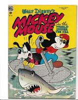 Mickey Mouse Dell Four Color #194 (#9) RARE Canadian higher-grade! Walt Disney
