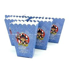 ⚓️6x Jake And The Neverland Pirates Popcorn Box Paper Loot Lolly Bag. Party