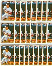 (25) Roberto Alomar1989 Topps #206 - 25 Card Lot