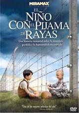 EL NIÑO CON EL PIJAMA DE RAYAS. dvd,