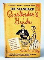 THE STANDARD BARTENDER'S GUIDE By Patrick Gavin Duffy 1948 Hardcover