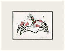 RICHARD SHORTY Kwakwaka'wakw Kwagiulth native artist HUMMINGBIRD art print