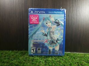 PSV PS Vita Hatsune Miku: Project Diva X w/Pouch (Brand New)
