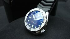 Vintage Seiko divers 7002 Auto MEGA MOD BB BLUE SAPPHIRE CRYSTAL J88.