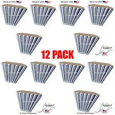 6 Bulb / Lamp T8 LED High Bay Warehouse, Shop, Commercial Light Fixture (QTY 12)