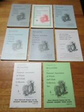 LOT 8 1966 BULLETIN OF THE NATIONAL ASSOCIATION OF WATCH AND CLOCK COLLECTORS