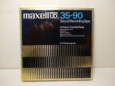 "Reel To Reel TapeMaxell Ud35-90 7"" Audio Tape"