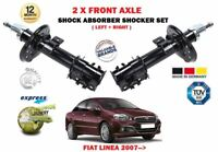 FOR FIAT LINEA 1.4 1.3D 1.6D 2007->NEW 2X FRONT LEFT RIGHT SHOCK ABSORBERS SET