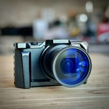 Sony Cyber-shot ZV-1 20.1MP Digital Camera w/Wide lens, ND Filter, & Cage