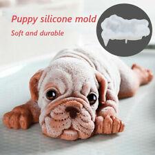3D Silicone Shar Pei Dog Mould Mousse Fondant Cake Chocolate Jelly Sugarcraft