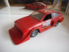 Polistil Alfa Romeo Alfetta GTV Turbo in Red on 1:25