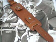 Excelente Reloj Correa de Cuero de Bund Para Relojes De Piloto Aviador Militar Vintage